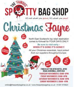 Spotty Bag Shop – Christmas Fayre