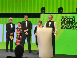 Staff praised following award win for Leask Marine