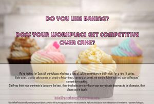 Orkney bakers wanted for reality TV programme
