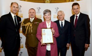 Health board collects prestigious award