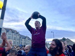 Quick victory for Doonies in Christmas Day Men's Ba'