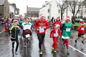 Santa Fun Run — round two!