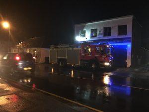 Fire service attend suspected gas leak