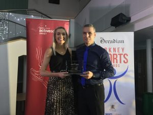 Sarah MacPhail named sportsperson of the year
