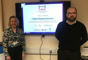OHAL makes a stand against domestic abuse
