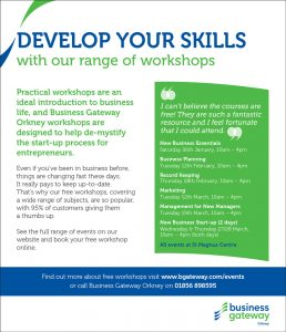 Business Gateway Workshops