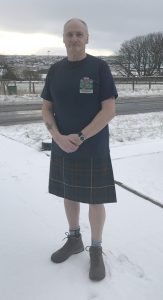 "Kirkwall man gearing up for ""kilt walk"" challenge"