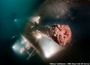 Survey project sheds new light on HMS Royal Oak