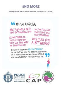 'Ask for Angela' campaign launched