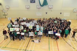 Pupils protest inaction on climate change
