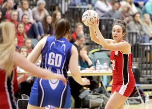 Spotlight on county's netballers during the weekend's sport