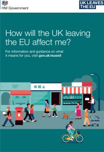 Scottish Government – How will the UK leaving the EU affect me?