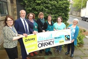 Orkney renews Fairtrade zone status
