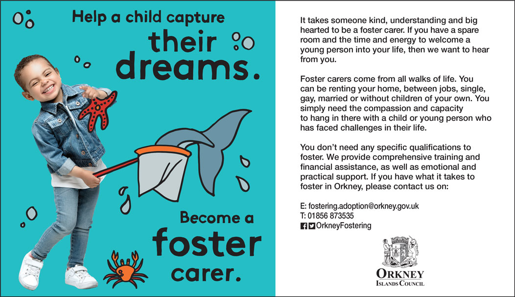 Become a foster carer.