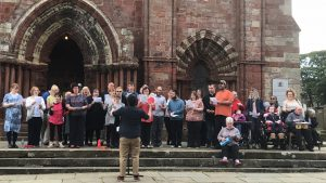 Community choir launches disabilities strategy