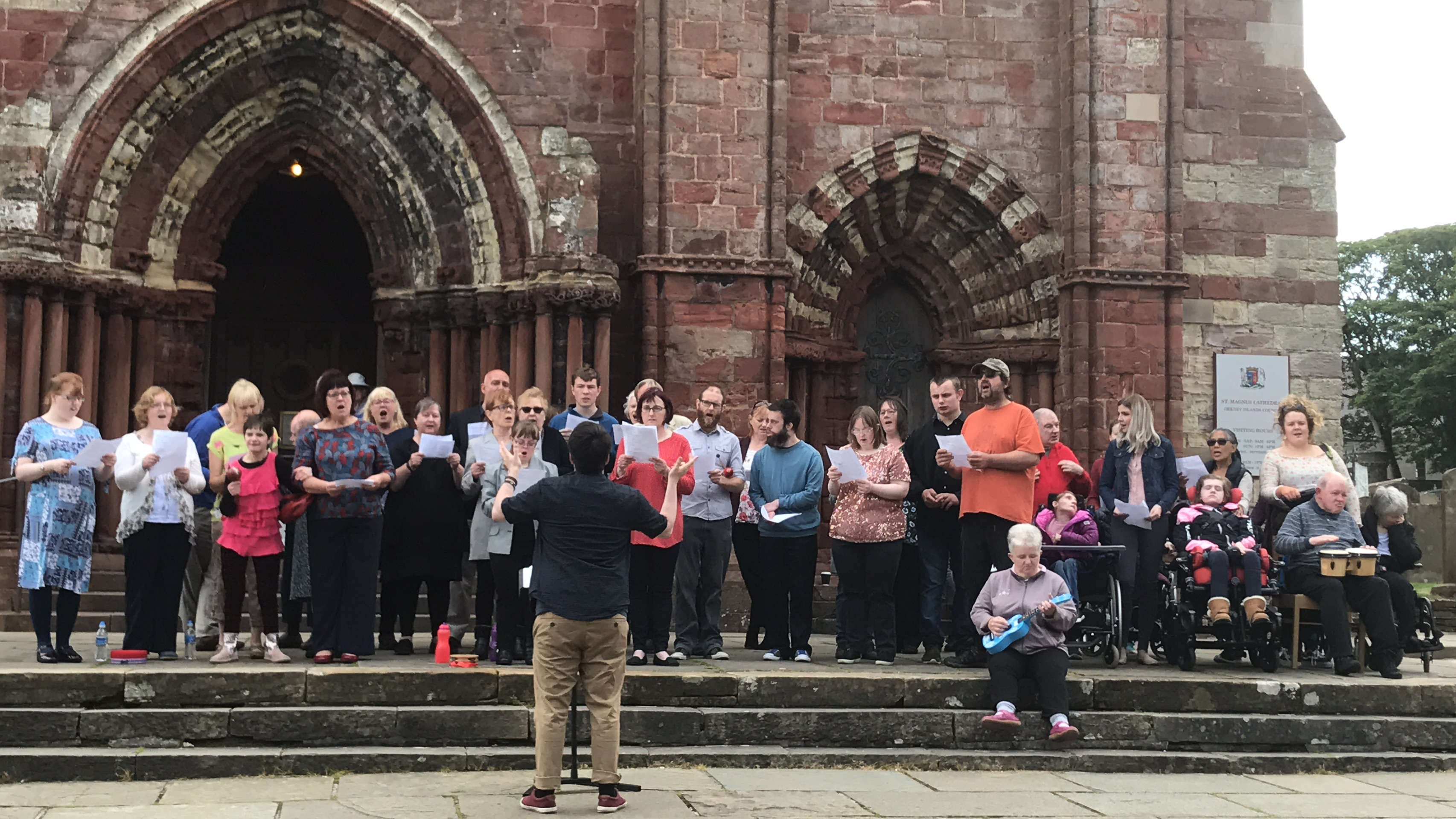 Community choir launches disabilities strategy - The