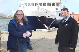 Orkney Ferries' come on board with free sanitary products