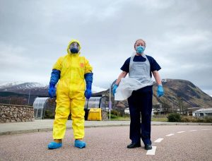 Volunteer group appeals for community to assist in PPE shortage