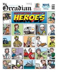 Supporting Orkney's heroes