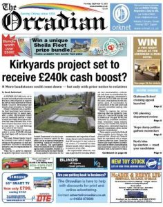 In this week's The Orcadian
