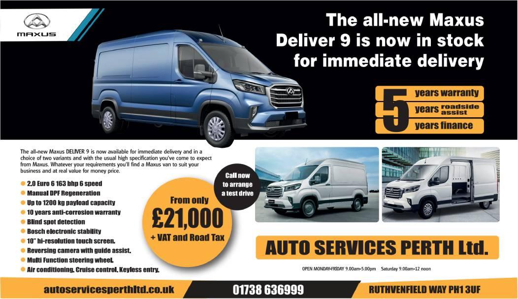 Auto Services Perth Ltd - The All-New Electric Maxus ...
