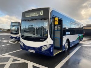 New buses to hit the road on Monday